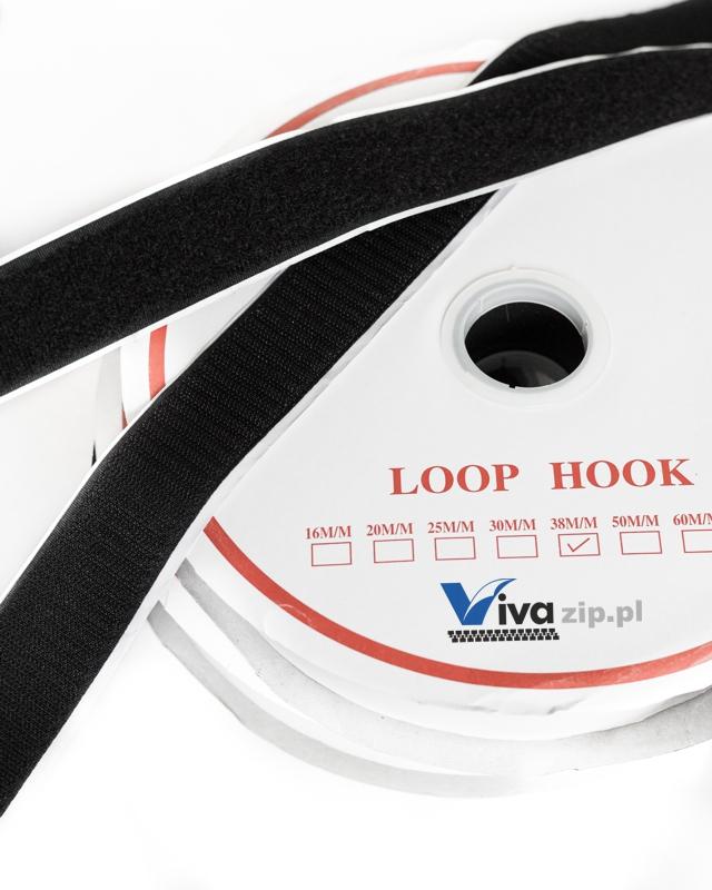 Self-adhesive hook and loop fastener tape