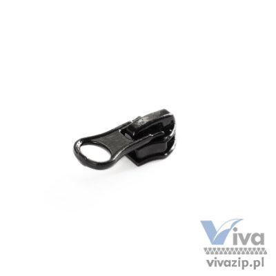 N-7106 Ein Schieber aus Metall mit Sperre, für den Spiral-Band Nr. 7, Erhältlich in Schwarz